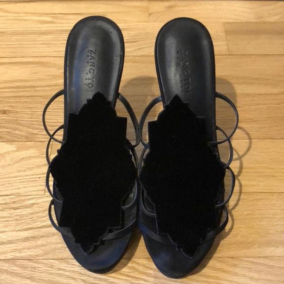 Zang Toi Evening Stilettos Size 38